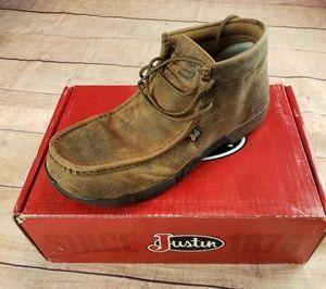 Justin Cappie Steel Toe Work Boots